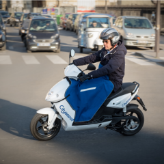 Electric scooters launched in Paris